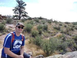 Joshua Fulenwider outdoors