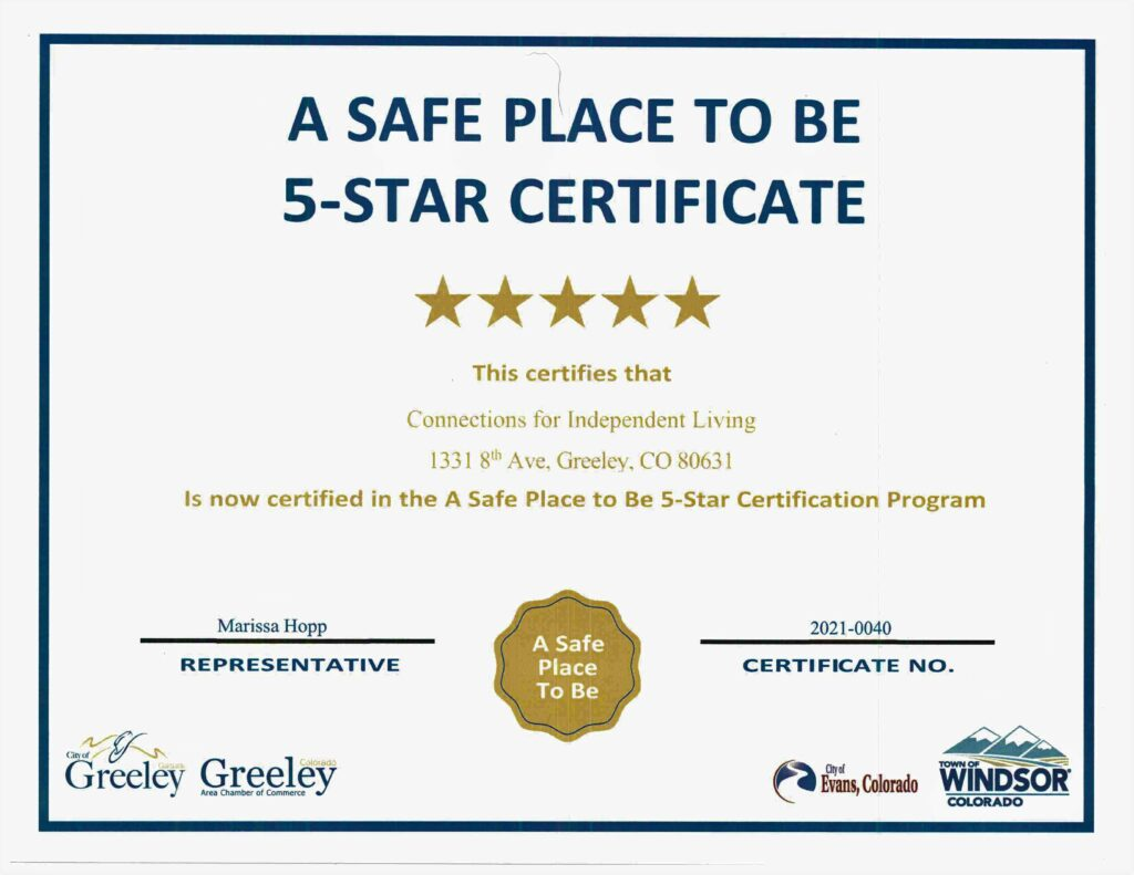 5 Star Certificate 2021